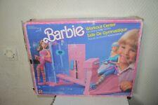 Zimmer Gymnastik Puppe Barbie Mattel in Schachtel Vintage 1984 Nr°7975 Fitness