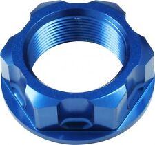 Apico Steering Stem Nut Kawasaki Kx65 00-15kx85 01-15 Kx125/250 88-91 Azul