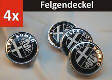 4x60mm 2020 Alfa Romeo Car Wheel Center Hub Cap Badge Aluminium Logo 147 156 159