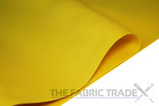 Yellow Craft Felt Fabric Material 100% Acrylic 1.5mm Thick 150cm Wide