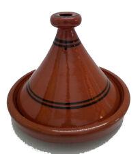Tajine Tagine Pentola Terracotta Piatto Marocchino Artigianale Diam.35cm Xl 1245