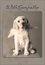 With Sympathy For the Loss of Your Pet Dog Sympathy Card  Doggie Door In Heaven