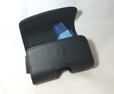 Small Leather Horizontal Asthma Inhaler Protective Belt Clip Case Medicine Pouch