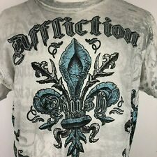 Affliction Mens T Shirt Signature Series Georges St Pierre Rush Size Large