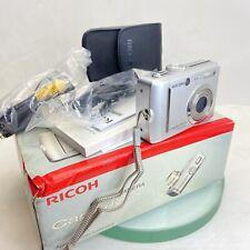 Ricoh Caplio RR750 7.1 MP Digital Camera - Silver Boxed Tested Great condition
