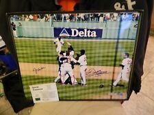 Derek Lowe Jason Varitek Signed 16x20 No Hitter Photo Tri-Star Mlb Auth Red Sox
