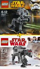 LEGO STAR WARS #30274 + #30497 - AT-DP + 1st Order Heavy Assault Walker - NEW