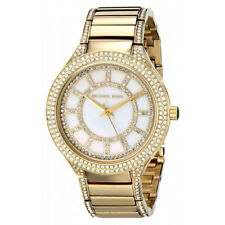 Michael Kors Women's MK3312 Kerry Gold Tone Mother of Pearl Dial Watch