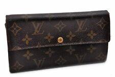 Authentic Louis Vuitton Monogram Portefeuille Sarah Purse Wallet M61734 LV 91638