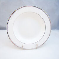 Mikasa Bone China GOTHIC PLATINUM AK018 Rimmed Soup Bowl(s) NEW w/Sticker