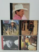 5 CD LOT/ George Strait Collection Country Music Legend