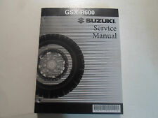 2006 2007 Suzuki GSX-R600 Service Repair Shop Workshop Manual FACTORY NEW