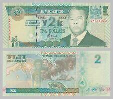 Fidschi / Fiji 2 Dollars 2000 p102a unc.