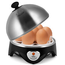 Electric Egg Cooker Poacher w/ Auto Shut Off, Hard Boiled Egg Maker for 7 Eggs