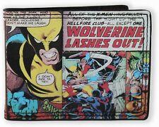 Marvel Wolverine Comic Bi-fold Wallet  - BRAND NEW