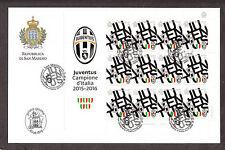 FDC BUSTONE SAN MARINO Juventus CAMPIONE D'ITALIA CALCIO FOOTBALL 2015 2016