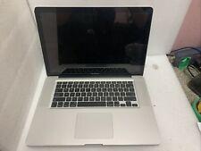 "Apple MacBook Pro A1286 15.4"" Laptop MC721LL/A Oct 2011 16GB Ram AS IS"