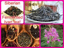 Siberian Fermented Ivan tea! Original and with additives! Premium quality! BIO!