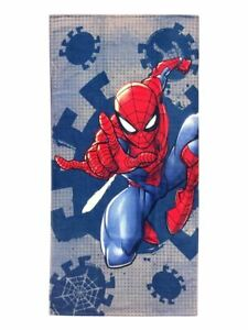 Marvel Spiderman Plunge Cotton 28 x 58 Beach Towel Soft Swimming Pool Bath Gift