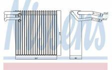 NISSENS Évaporateur climatisation pour DACIA LOGAN 92188 - Mister Auto