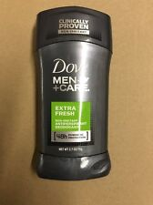 6 Dove Men+Care Extra Fresh Antiperspirant Stick, 2.7 Oz, Free Priority Shipping