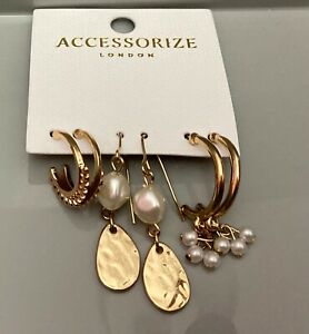 Accessorize earings brand new gift wrap optional free postage ideal gift