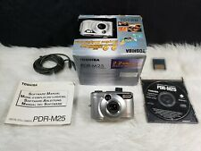 Toshiba PDR-M25 2MP Digital Camera with 3x Optical Zoom - Silver