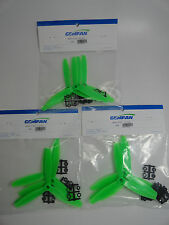 Gemfan Green 6 X 4 6040 ABS Three Blade Quadcopter Propellers 12 Props