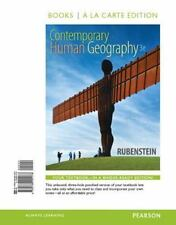 Contemporary Human Geography, Books a la Carte Edition (3rd Edition), Rubenstein