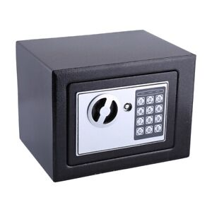 6.4L SAFE MINI HIGH SECURITY ELECTRONIC DIGITAL STEEL HOME CASH RATED SAFETY BOX