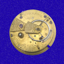 Russell of Liverpool KW  12 S Fusee 7J Pocket Watch Movement, ca. 1870