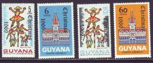 Guyana 1969 SC 102-105 MNH Set Christmas