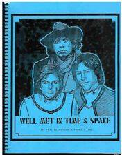 """Doctor Who Fanzine """"Well Met In Time & Space"""""""" Gen crossover with Galactica 1980"""