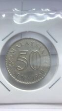 (CN 0002) 1968 Malaysia 50 Cents