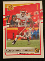 2020 Donruss CLYDE EDWARDS-HELAIRE - Rated Rookie RC - CANVAS SP!!!