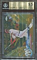 JUAN SOTO 2018 Topps Update Chrome rare GOLD rookie #/50 BGS 9.5 GEM MINT pop 5