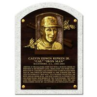 "Cal Ripken Baltimore Orioles 3D Textured Hall of Fame Gallery Plaque (10"" x 14"")"