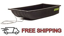 Shappell Jet Sled Js1 Ice Fishing Snow Decoy Hauler Hunting Gear Carrier Black