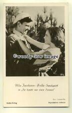 b2587 - Film Actors - Ulla Jacobssen & Folke Sundquist - postcard plain back