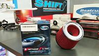"""Simota Racing Dual Entry 3"""" Air Filter RED Width-151mm x Height-130mm"""