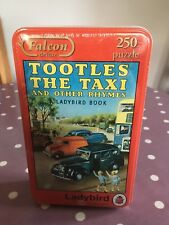 250 Piece Jigsaw Puzzle Tin Tootles the Taxi & Other Rhymes Ladybird New Sealed
