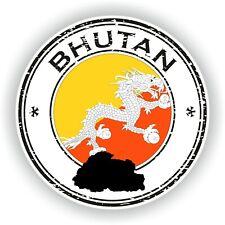 Bután Sello Sello Pegatina para Coche Camión Portátil Tablet Nevera Puerta