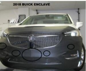 Lebra Front End Mask Cover Bra Fits 2018-2021 Buick Enclave 18 19 20 21