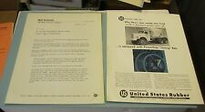 1959 REO Motor Car Company Cement Mixer Truck PowerGrip Timing Belt Advertising