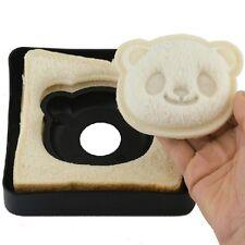 Cute Panda Shape Sandwich Bread Toast Mould Cutter Maker Kitchen FREE GIFT INC