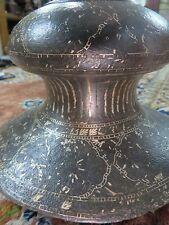 MUGHAL HUQQA HOOKAH BASE HISTORICAL PERSIAN ISLAMIC ART WORK ASIAN PRIMITIVES