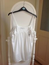 womens white top size 14