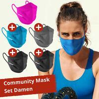 5er Pack UYN Community Mask Gesichtmaske Schutz Maske Mund-Nasen-Bedeckung Damen