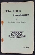 ERG catalogue of 00 Model railway supplies, Boscombe, Bournemouth 48 pages