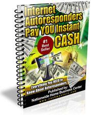 INTERNET AUTORESPONDERS PAY YOU INSTANT CASH PDF EBOOK FREE SHIPPING